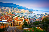 Monaco - Twilight at Port Hercule