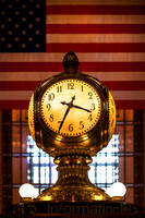 New York City - The Grand Central Terminal Clock