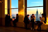 New York City - View from 70th Floor Observation Deck, Top of the Rock