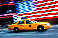 New York City - Yellow Medallion Taxicab