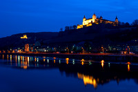 Wuzburg - Old Bridge and Festung Marienburg