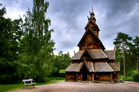 Oslo: The Stave Church of the Norwegian Folk Museum | Norsk Folkemuseum