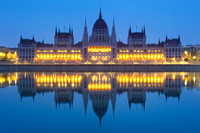 Budapest - The Hungarian Parliament Building