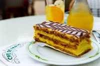 Monaco - Napoleon Cake or Mille-Feuille in Café de Paris