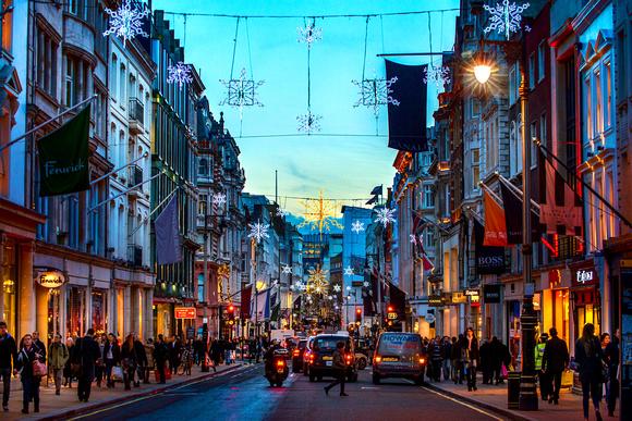 England Christmas Decorations.Yen Baet Photography England Christmas In London