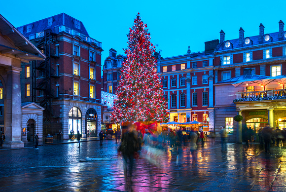 London   Christmas In Covent Garden