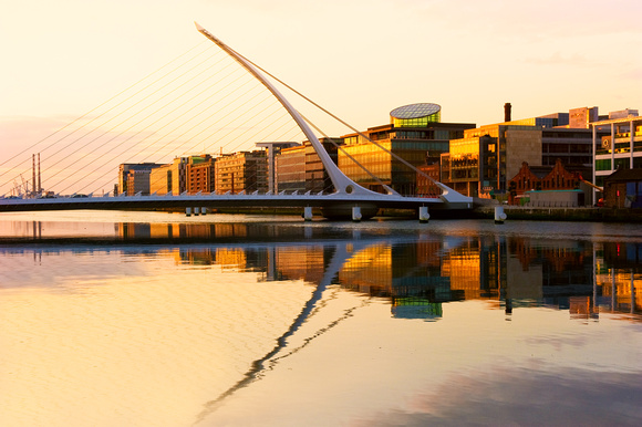 Dublin - The Samuel Beckett Bridge