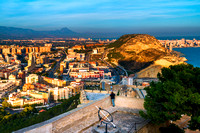Alicante - View of City at Sunset